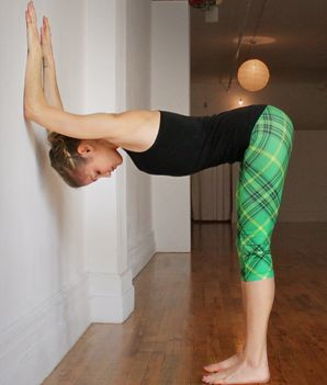get vertical master the forearm stand  yoga fitness