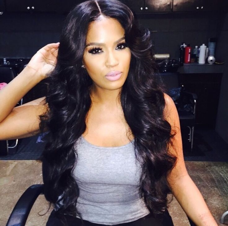 African American Hair Full Sew In Weave Extensions San Go