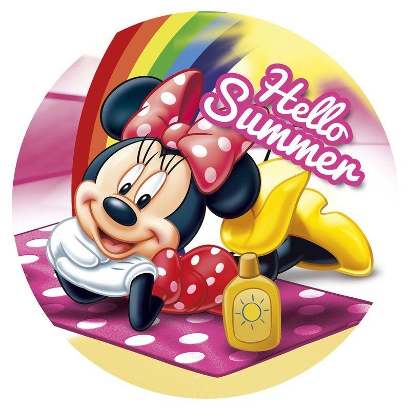 Tolla Redonda De Minnie Mouse 14 95 Tiendas Disney Minnie Mouse Disney