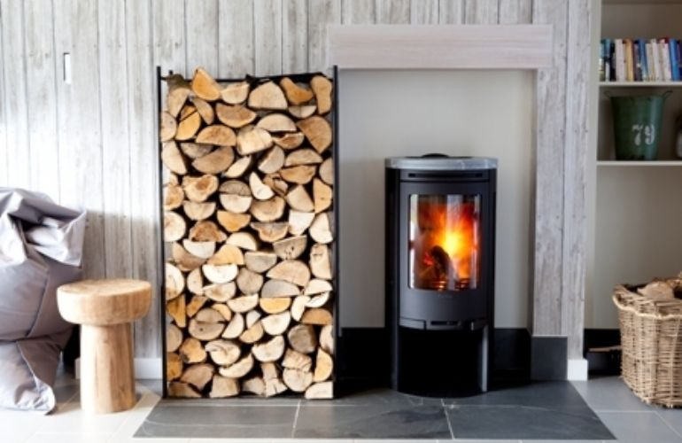 Contura stove at Jill Stiens Kernow Fires Wood Burning Stove Installation Cornwall
