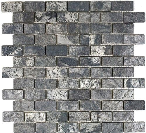 epoch tile ostrich grey tumbled slate mosaic floor or wall tile 1