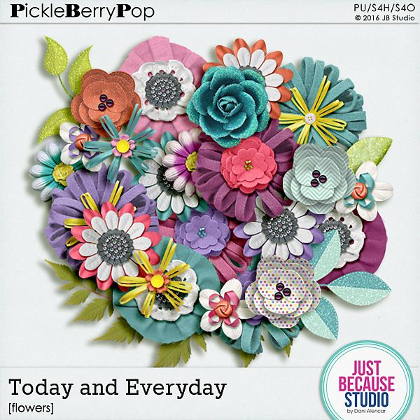 Today and Everyday Flowers By JB Studio