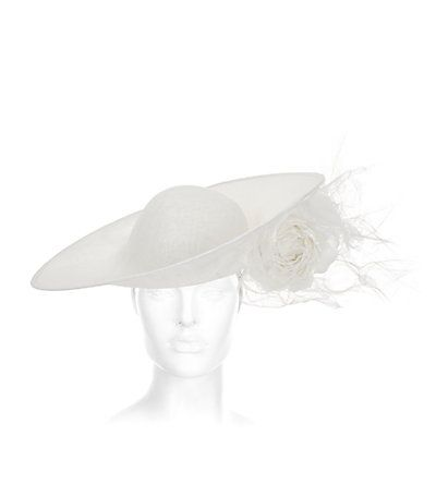 Philip Treacy Distressed Tipped Dome Hat  936b4116821