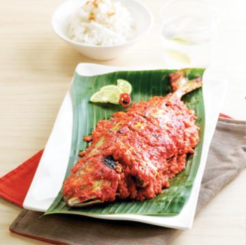 Ikan Kuwe Oeiloni Ikan Kuwe Bakar Dengan Bumbu Merah Ini Adalah Masakan Dari Gorontalo Makanan Masakan Resep Masakan