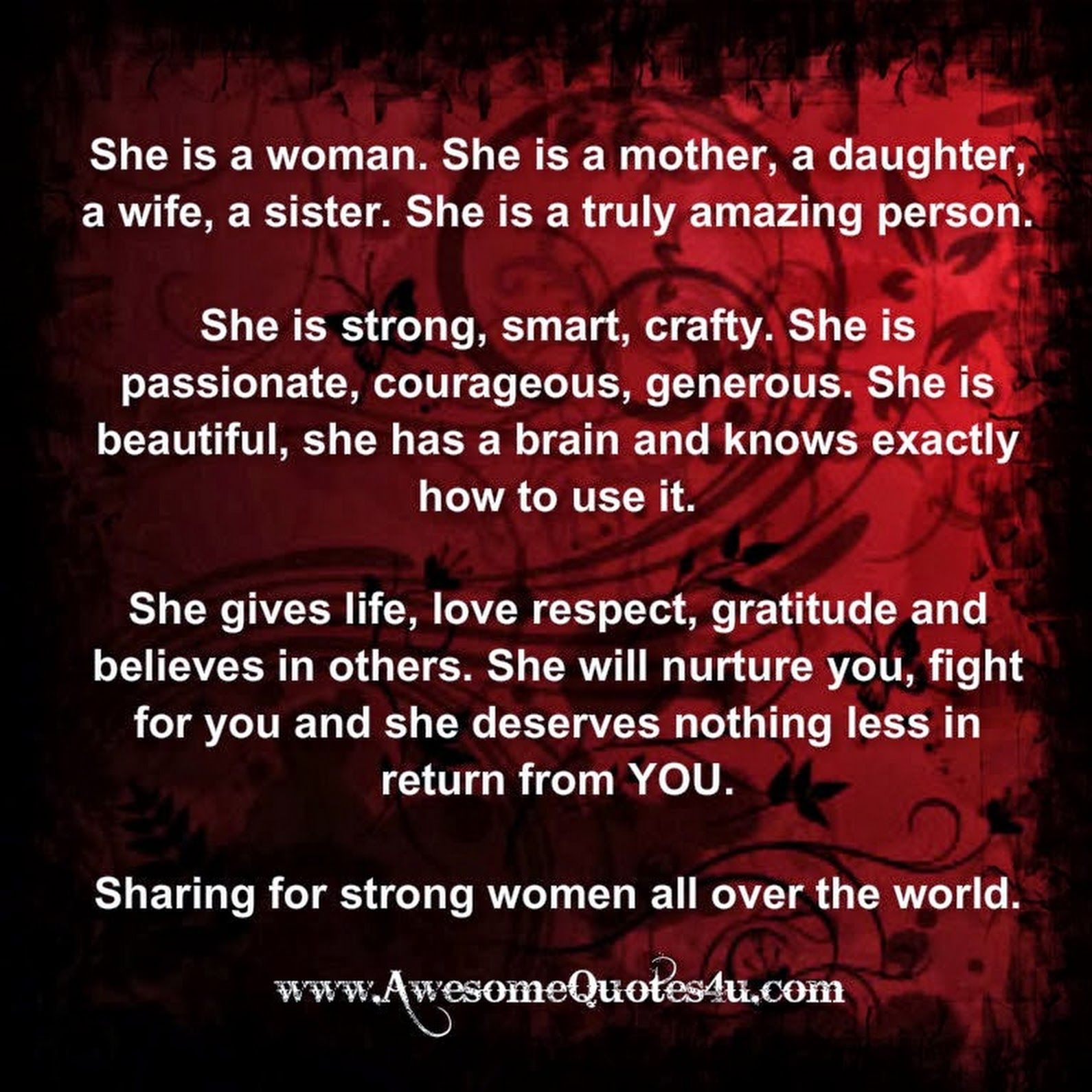 Pin by Keri Johns on life (With images) Good woman