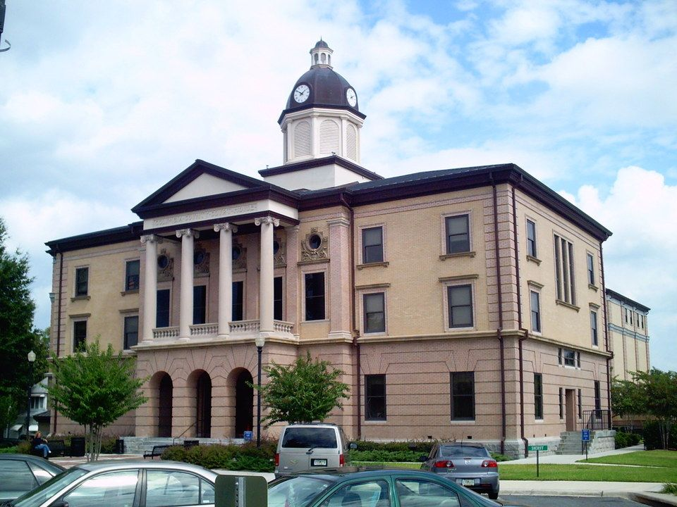 Lake City, FL : Columbia County Courthouse in Lake City, FL My