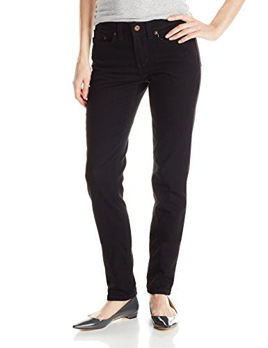 722928fa6da501 Dickies Women's Curvy Fit Skinny Leg Denim Jean, Black, 4 *** You can get  additional details at the image link.