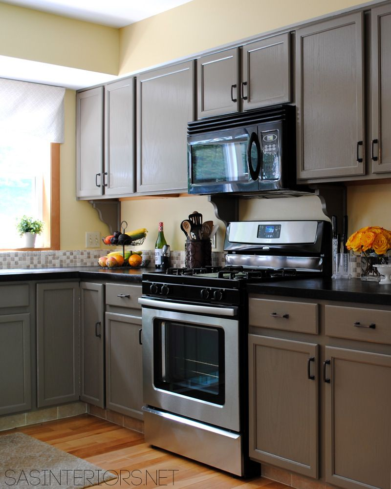House Tour: House Snooping at SAS Interiors | Painted oak cabinets ...
