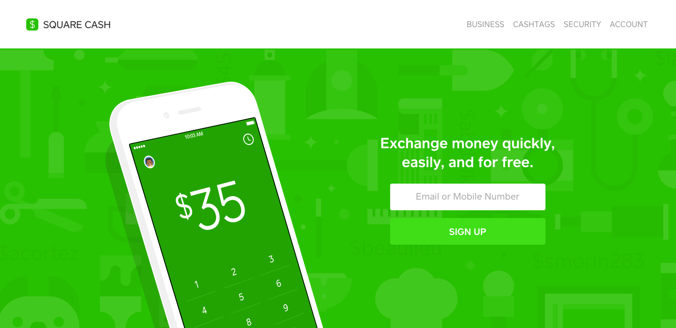 Square Cash is an insanely easy way to request and send