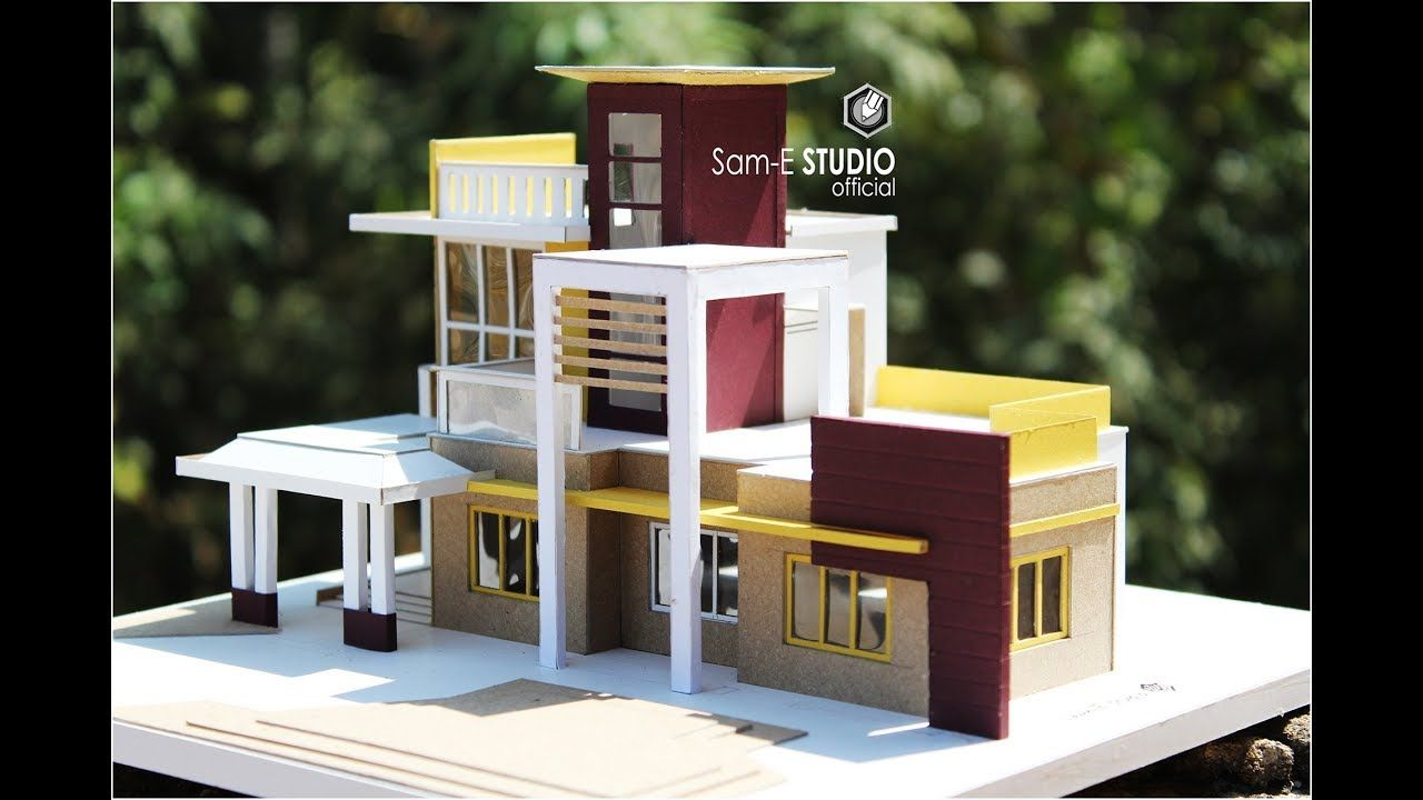 Modern Villa How To Make Realistic Villa House Part 1