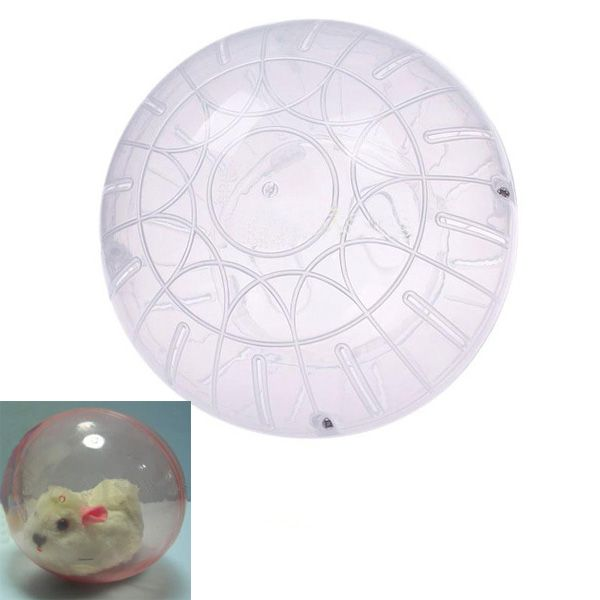 Hot Cute Plastic Pet Rodent Mice Hamster Jogging Playing Exercise