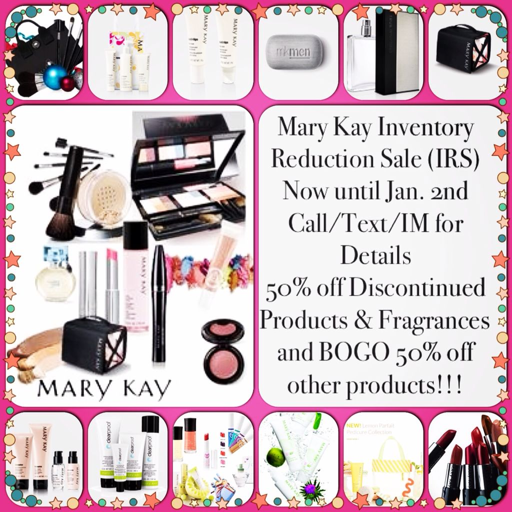 IRS Inventory Reduction Sale! Mary kay, Mary kay