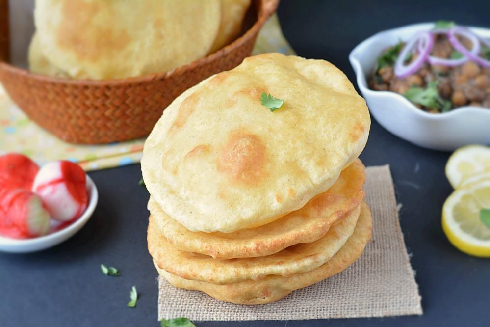 Step by step Wheat Bhatura Recipe. How to make wheat ...