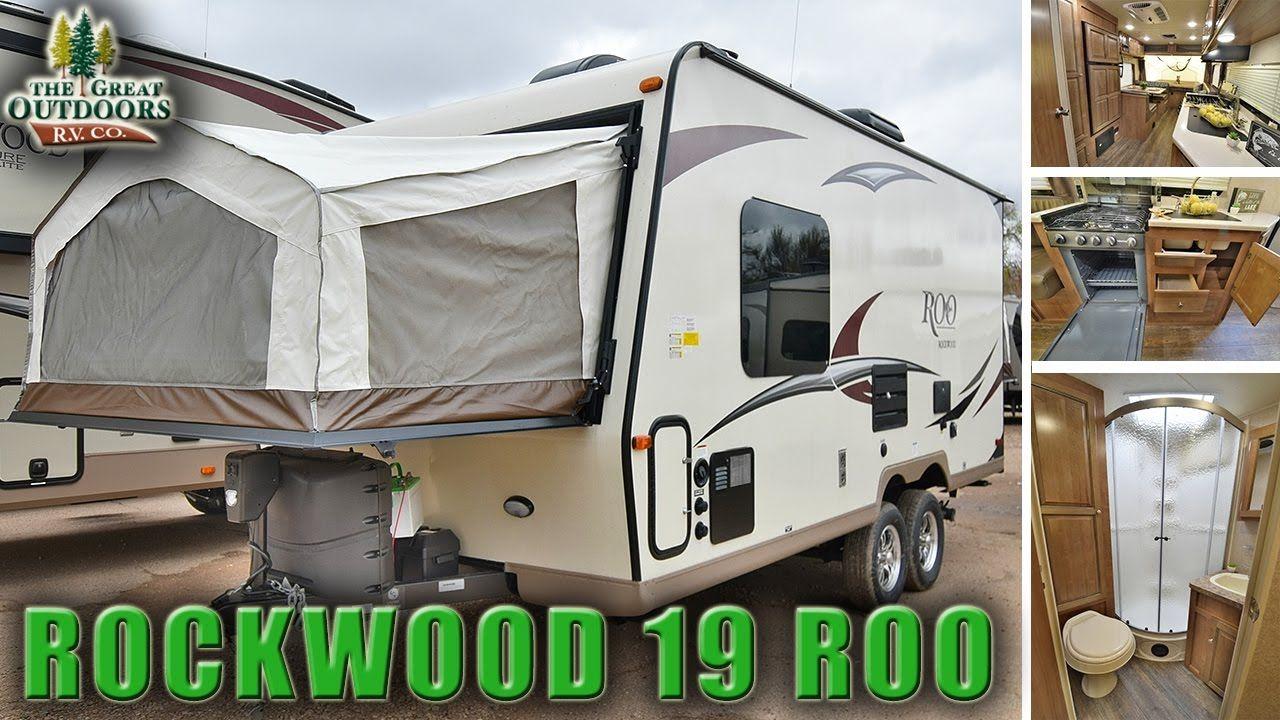 2018 Forest River Rockwood 19 Roo R1078 Hybrid Camper Travel