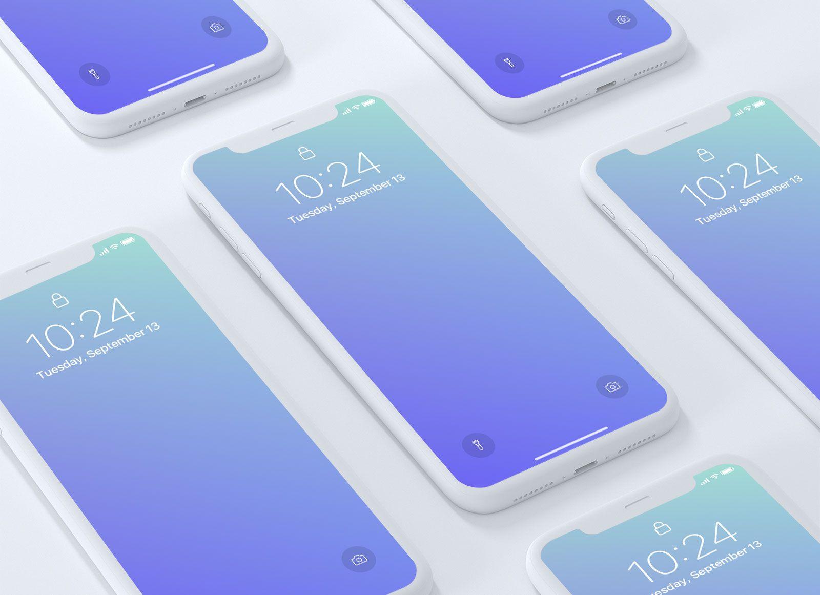 Download Free Premium Iphone X App Screen Mockup Psd Iphone Mockup Free Mockup Iphone