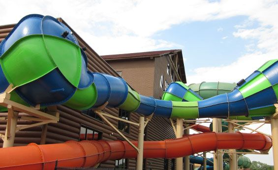 Triple Twist Places I D Like To Go Water Slides Great Wolf Lodge Wild Waters