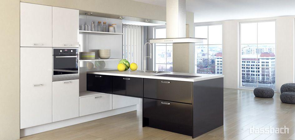15 Pins om Küche Individuell du må se Küche praktisch gestalten - küche hochglanz weiss