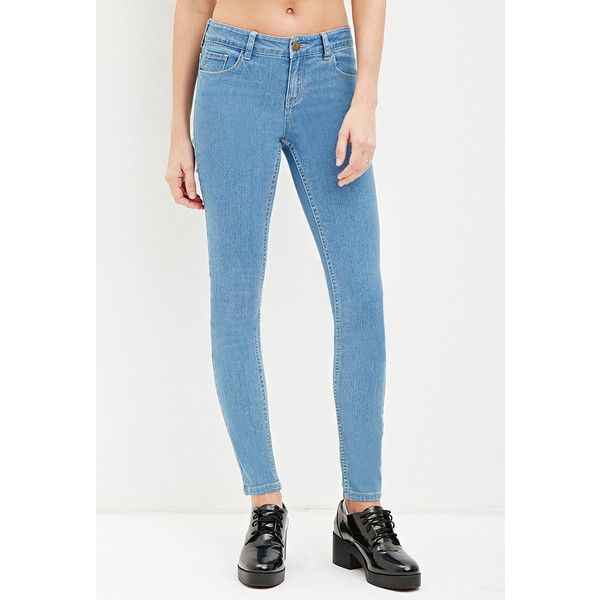 best value limited quantity finest fabrics Forever 21 Women's Low-Rise Skinny Ankle Jeans ($9.90 ...