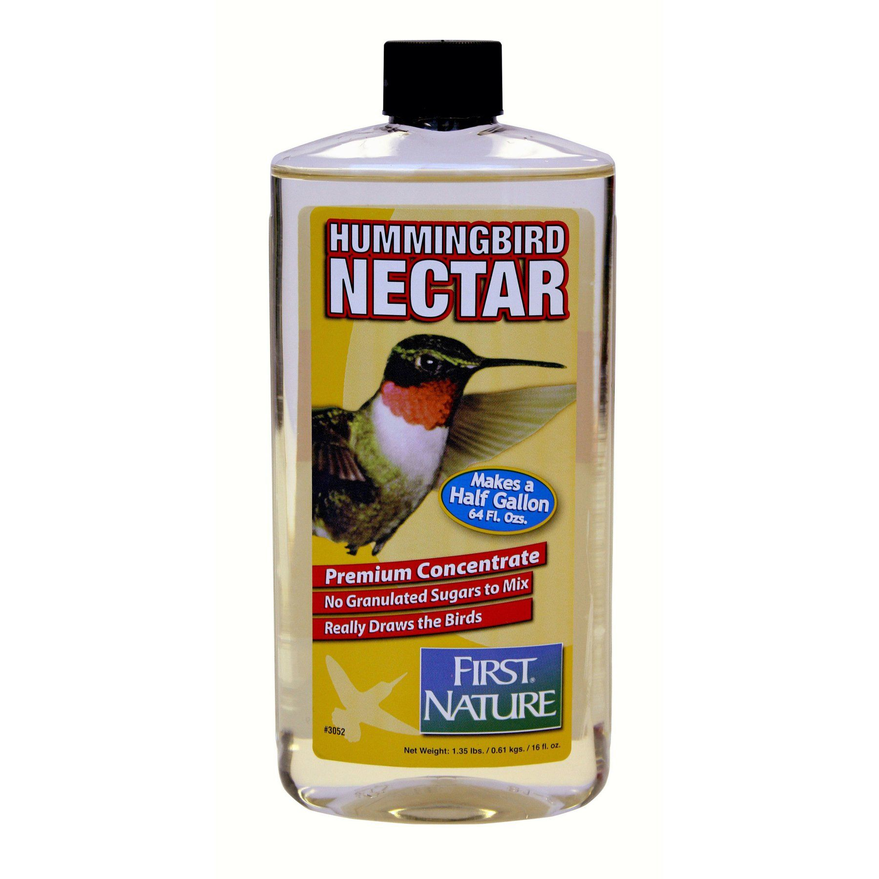 First Nature 16 oz. Clear Hummingbird Concentrate Nectar