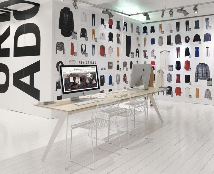 Vero Moda Online popup store Brilliant retail design