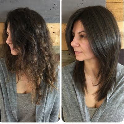 Smooth Blow Out By Marina S Stylish Hair Pretty Hairstyles Sleek Blowout