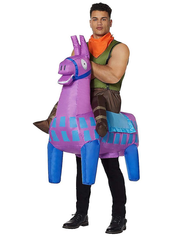 Spirit Halloween Fortnite Costumes.Giddy Up Adult Inflatable Fortnite Costume Spooktacular