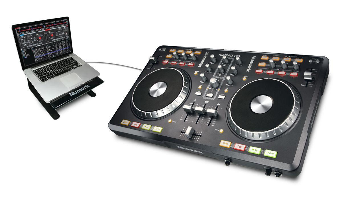 Numark Mixtrack Pro 2 Channel Controller Interface Audio Dj Equipment Digital Dj