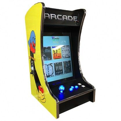 How Fun Is This Countertop Arcade Game Make Your Home The Central
