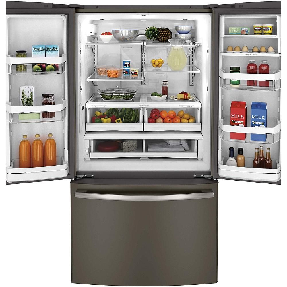 Ge Profile 23 1 Cu Ft Counter Depth French Door Refrigerator