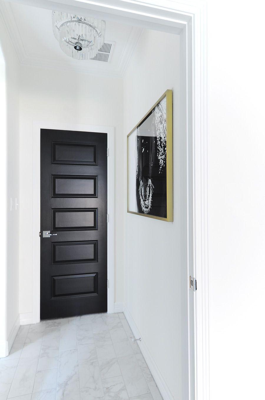 Modern Interior Doors Ideas 30: Living With Black Interior Doors: 6 Month Update