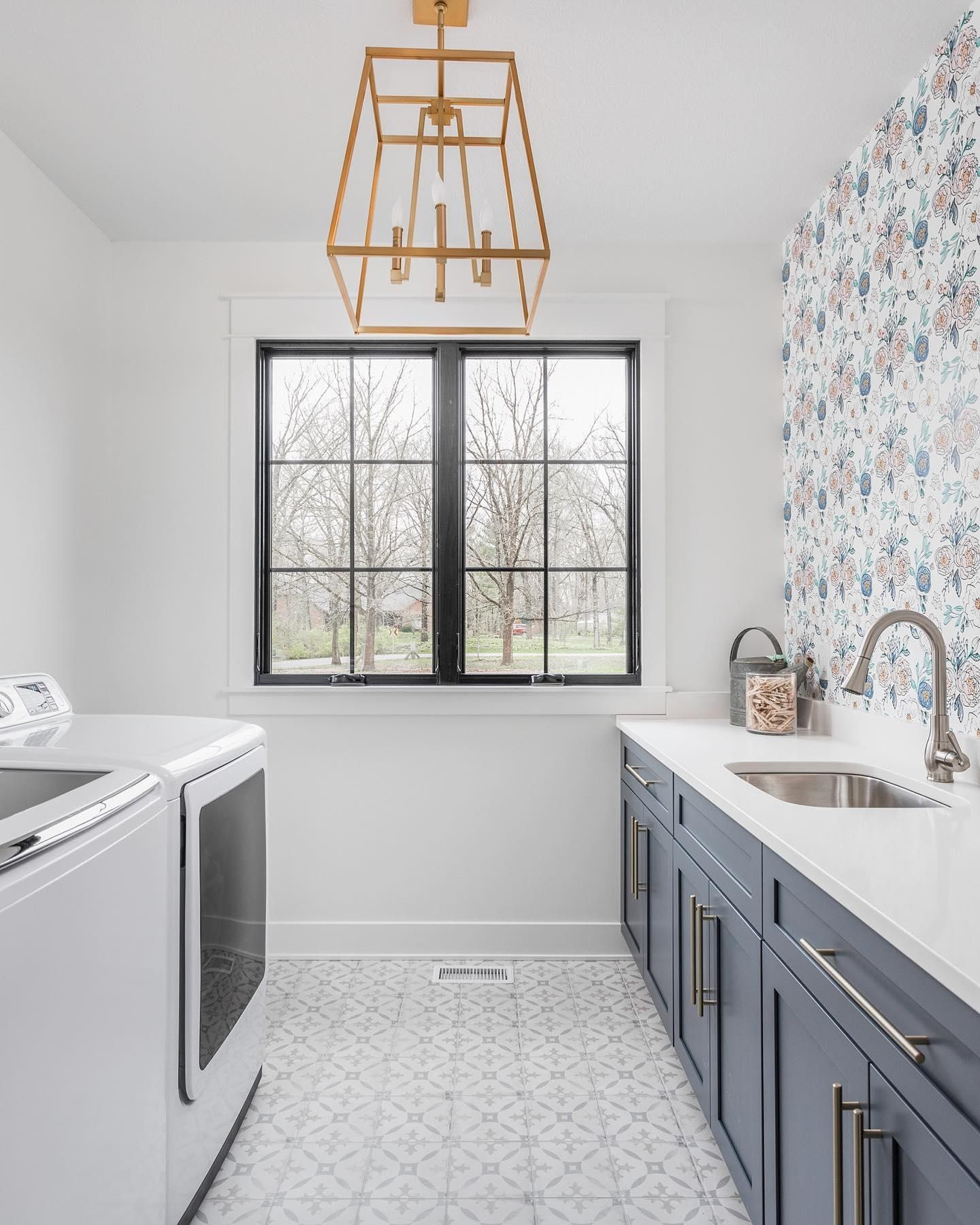 We Re Dishing Out The Inspiration With Over 20 Colorful Patterned And Stunning Encaustic Cement And Encaus Laundry Room Tile Laundry Room Diy Best Floor Tiles