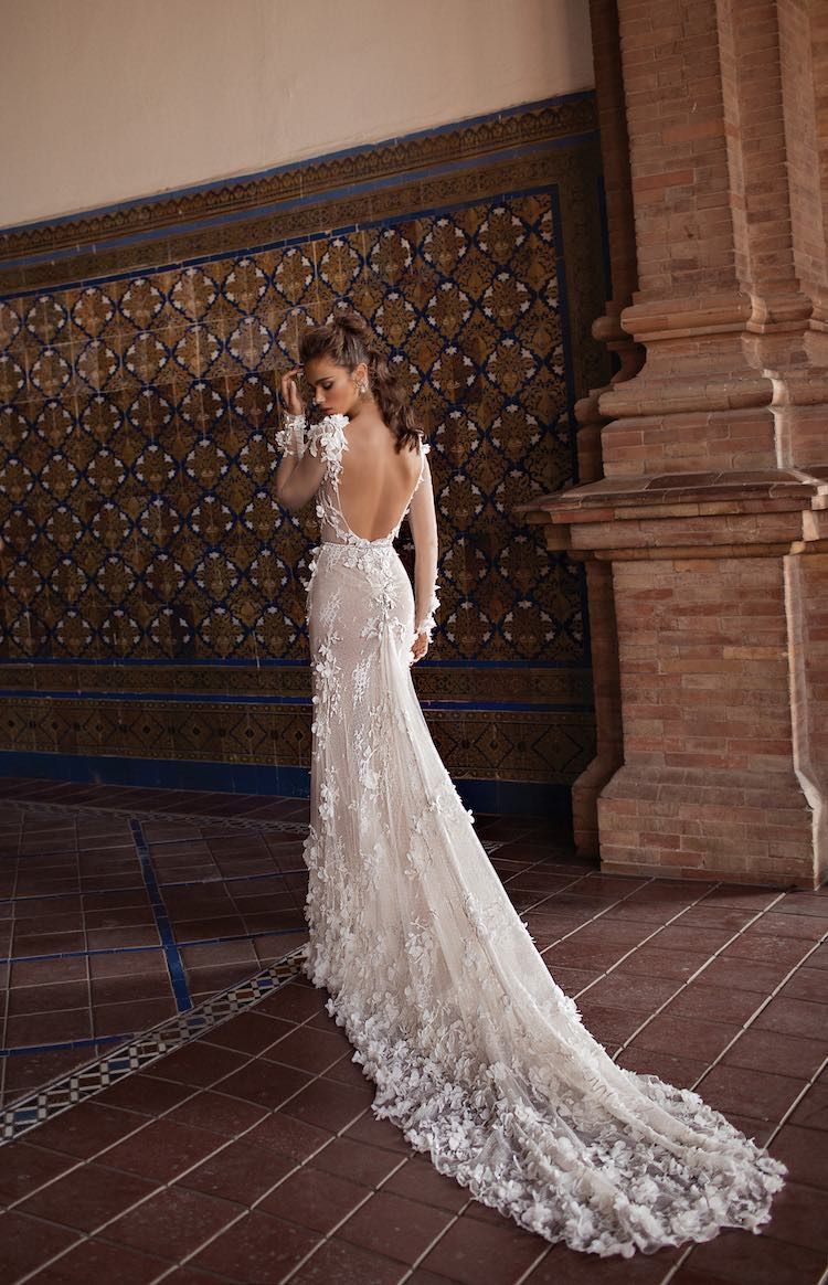 Modernly fashionable berta wedding dresses seville collection