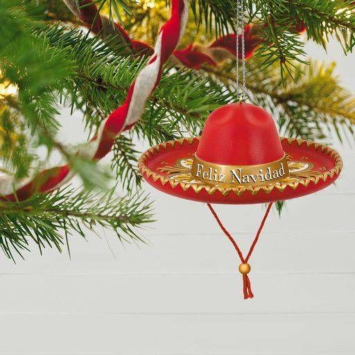 328c7f4dbb109 Feliz Navidad Sombrero Musical Ornament