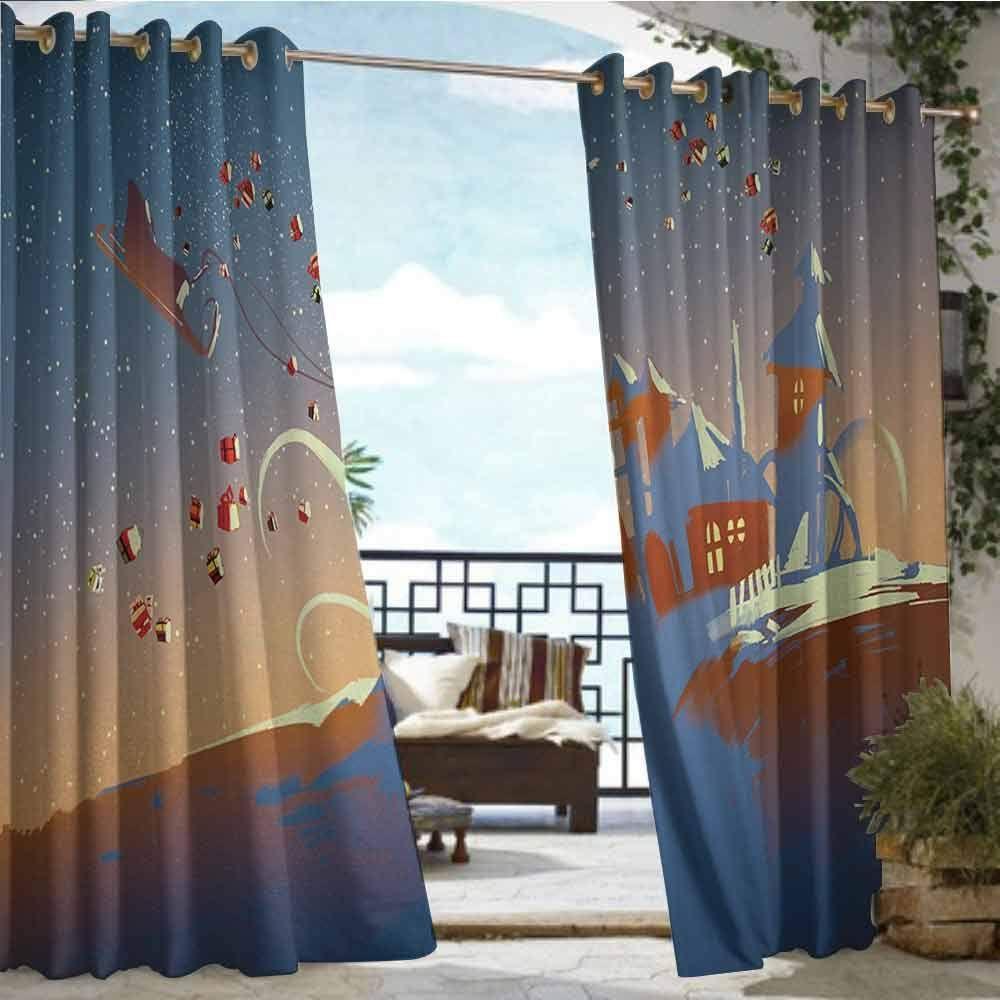 Indoor Outdoor Single Panel Print Window Curtain Fantasy Read
