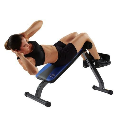 #fitness #crunch #situp #bench #pure #abPure Fitness Ab Crunch Sit-Up Bench Pure  Ab Crunch Sit-Up B...