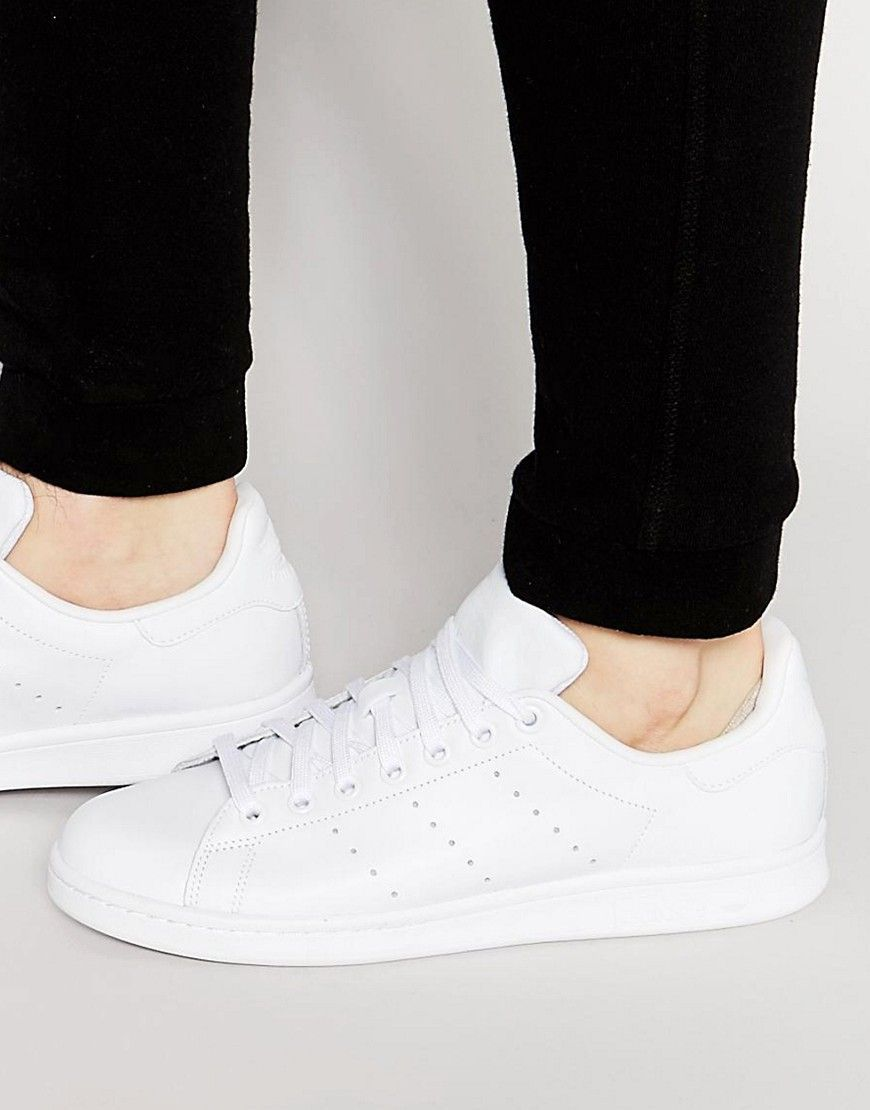 nice shoes 100% top quality classic adidas Originals Stan Smith Sneakers In White S75104 - White ...