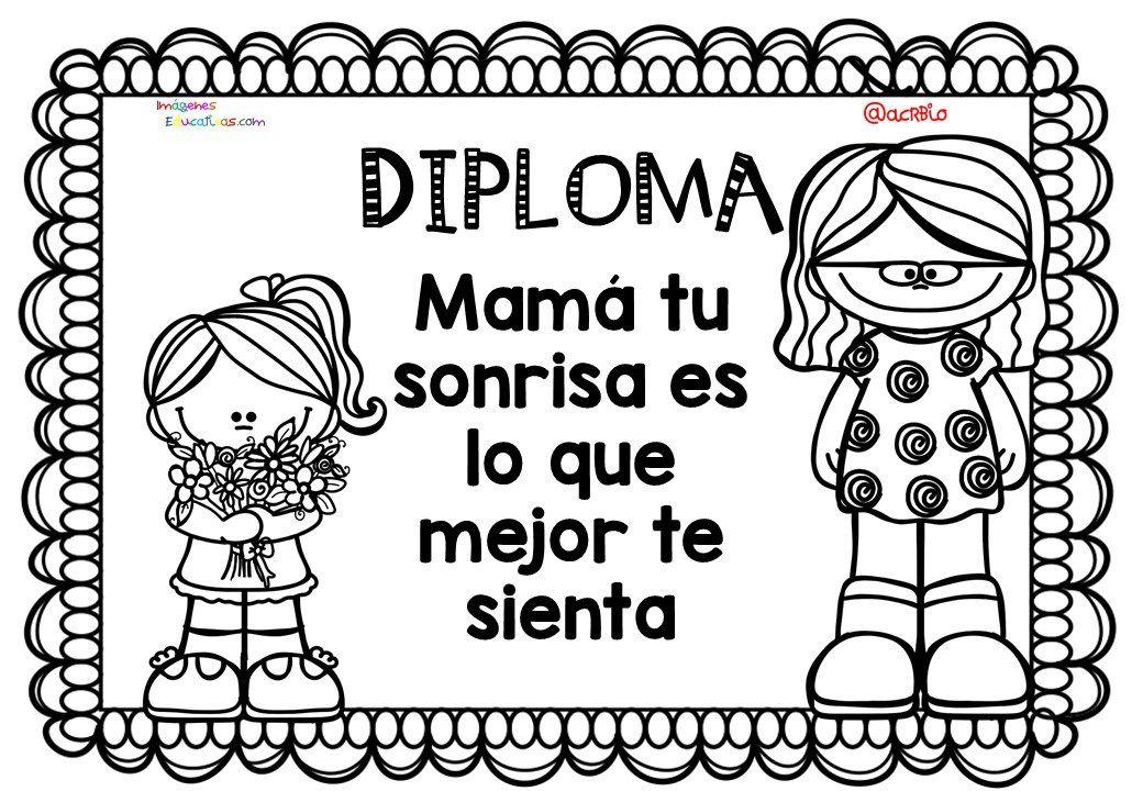 Diplomas-para-colorear-del-día-de-las-madres.-10-de-Mayo-5.jpg (1040 ...