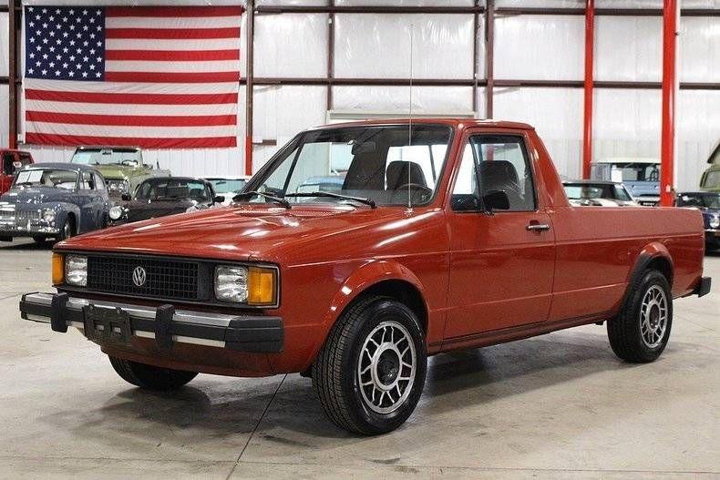 1982 Volkswagen Rabbit Pickup Vw Rabbit Volkswagen Vw Rabbit Pickup