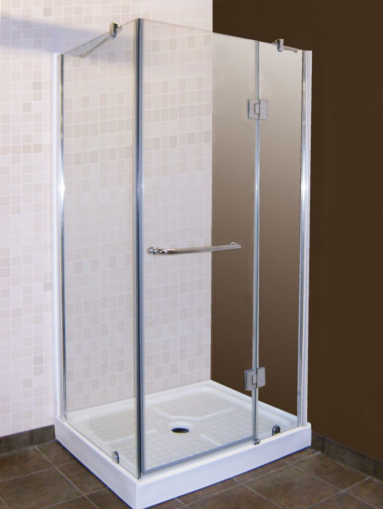 Home Depot   California 32 Inch X 40 Inch Shower Door