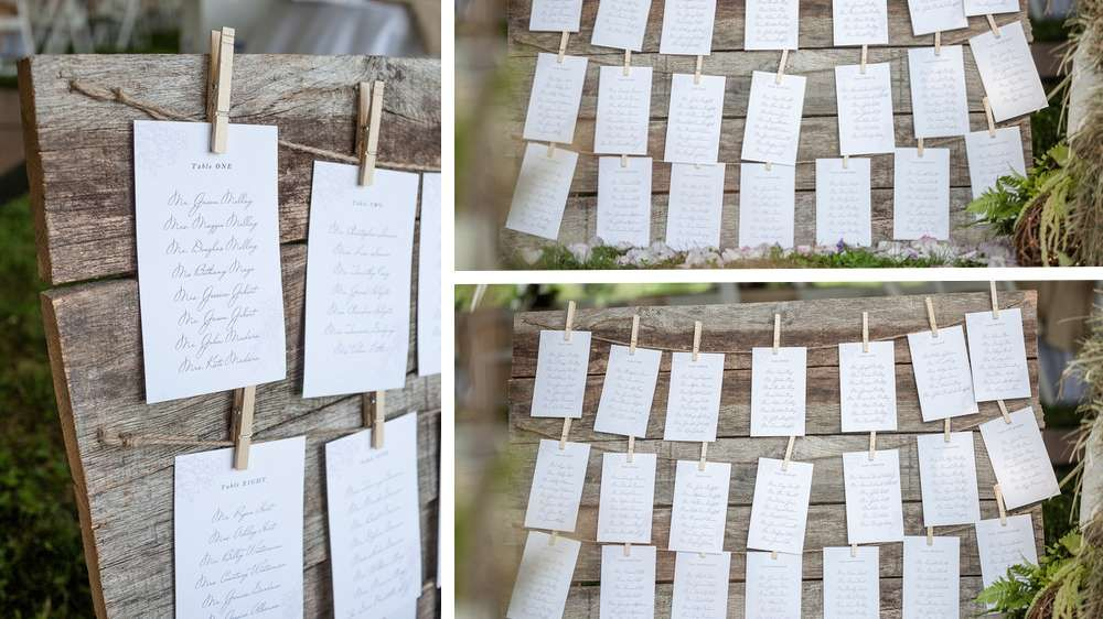 plan de table planches en bois