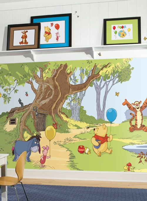 York Winnie the Pooh mural and decals | Wallpaper | Pinterest ...