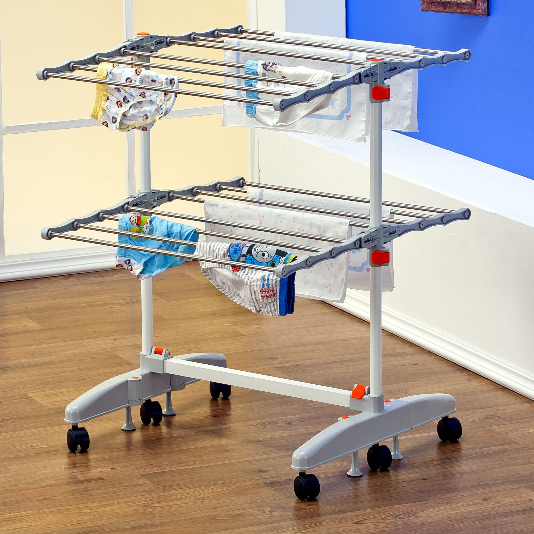 Portable And Compact, This Foldable Laundry Drying Rack From Badoogi Is Not  Only Great For
