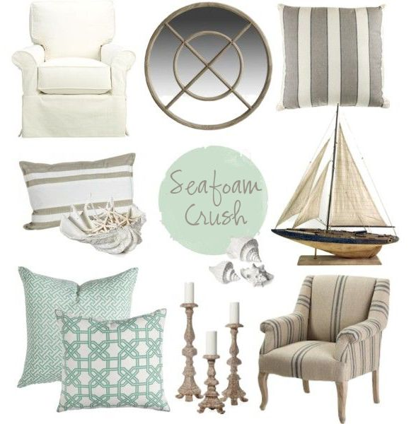 Coastal Style Hamptons Chic with Seafoam Accents araminda - resume with accents