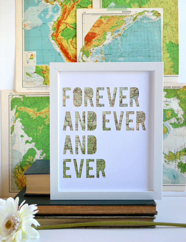 New To Typeshyshop On Etsy Travel Theme Wedding Gift Idea