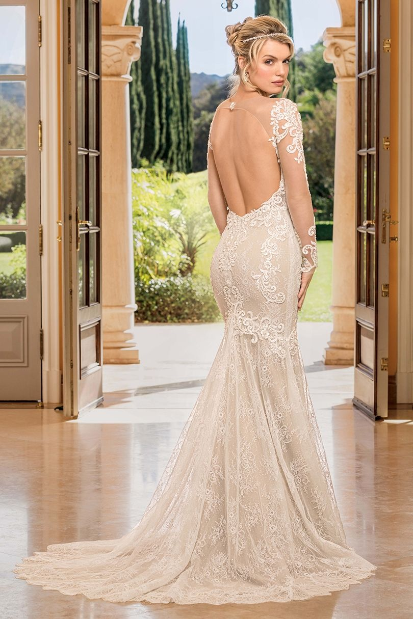 Style 2352 Lisette Casablanca Bridal In 2020 Long Sleeve Bridal Dresses Casablanca Bridal Wedding Gowns Lace