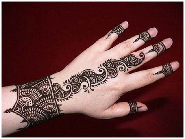 Apply Mehndi Hands : In our school we were not allowed to apply mehndi even during eid