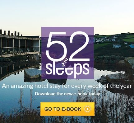 52 Sleeps - a collection of gorgeous places to stay around Britain every week of the year. FREE e-book download!