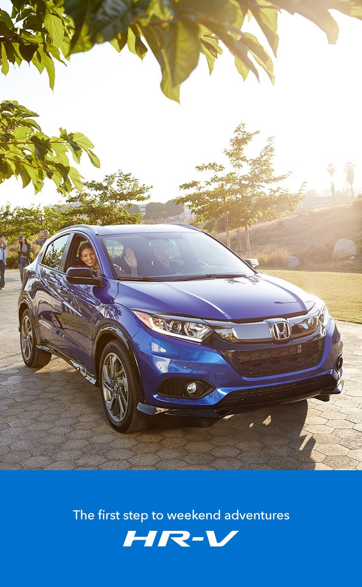 With room for five and plenty of cargo space, the Honda HR