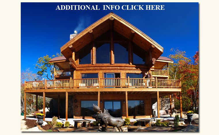 Welcome To Bryson City Log Homes Log Cabin Builders Bryson City Cabins Luxury Lodge