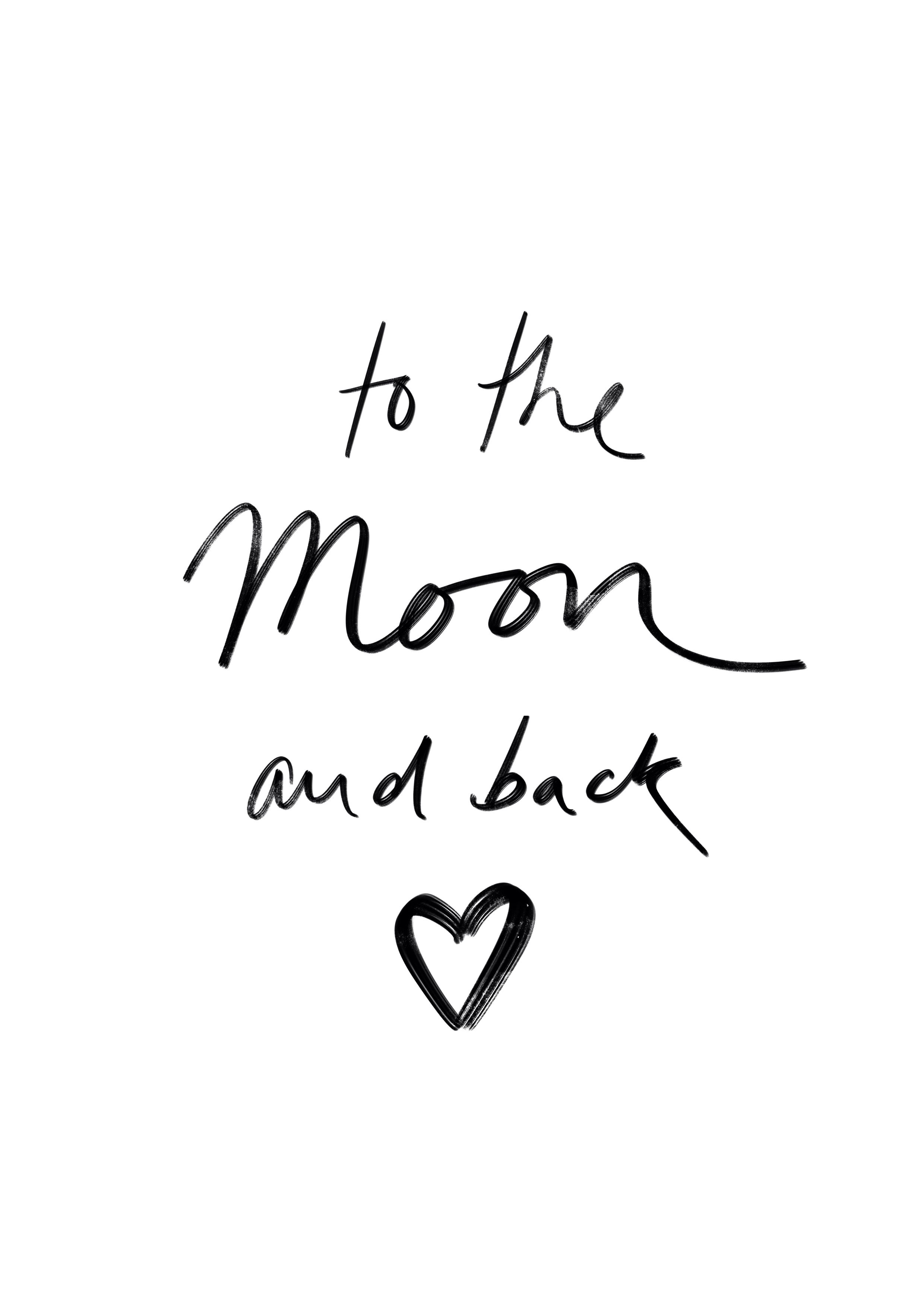 To the moon quote